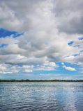Summer Cloud Scape Royalty Free Stock Photos