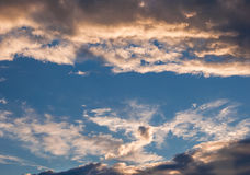 Summer Cloud Scape Stock Image
