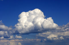 Summer clouds Royalty Free Stock Photos