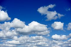 Summer Clouds Stock Image