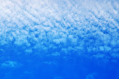 Summer clouds Stock Photography