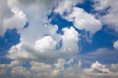 Summer clouds Stock Photos