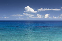 Free Summer Clouds Over The Sea Stock Photo - 42671380