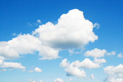 Summer cloudscape Royalty Free Stock Images