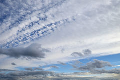Summer cloudscape Royalty Free Stock Image