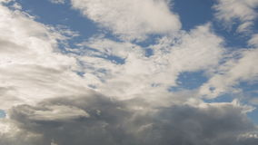 Summer cloudscape timelapse footage Stock Photography