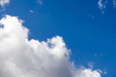 Summer, cloudy sky Royalty Free Stock Photography