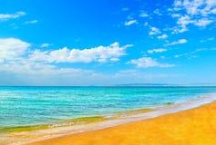 Summer coast of beach Royalty Free Stock Photo