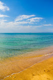 Summer coast of beach Stock Photography