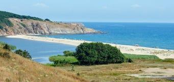 Summer coast landscape (Bulgaria, Sinemorets). Royalty Free Stock Image