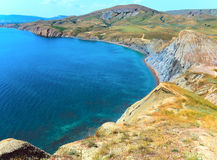 Summer coastline . Royalty Free Stock Photos