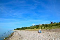 Summer coastline Royalty Free Stock Photos