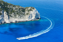 Summer coastline landscape (Zakynthos, Greece) Stock Photography