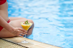 Summer cocktail Royalty Free Stock Image