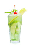 Summer cocktail - mojito Stock Image