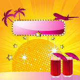 Summer cocktail party Royalty Free Stock Images