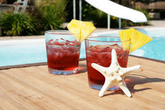 Summer cocktails Stock Image