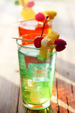 Summer cocktails royalty free stock images