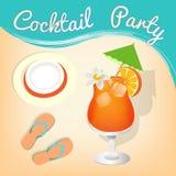 Summer cocktails Stock Image