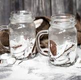 Summer coconut drink Stock Photo