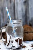 Summer coconut drink Royalty Free Stock Photo