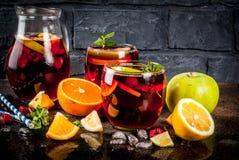 Free Summer Cold Sangria Stock Photos - 113637653