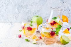 Free Summer Cold Sangria Stock Image - 119775891