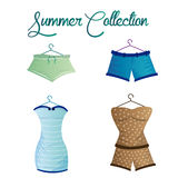 Summer collection Stock Images