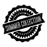 Summer collection stamp. Grunge design with dust scratches. Effects can be easily removed for a clean, crisp look. Color is easily changed Stock Images