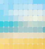 Summer color mosaic background. Vector Royalty Free Stock Image
