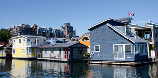 Summer colors in float home village, Victoria - 7 Royalty Free Stock Image