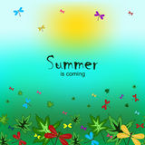 Summer is coming-5 Royalty Free Stock Photos