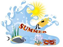 Summer concept Royalty Free Stock Photo