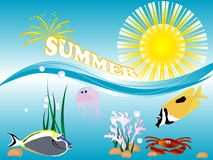 Summer concept Stock Image