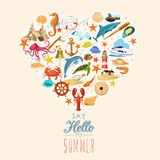 Summer concept. Stock Images