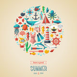 Summer concept. Royalty Free Stock Photos