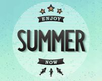 Summer conceptual design Royalty Free Stock Photo