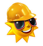 Summer Construction Royalty Free Stock Images