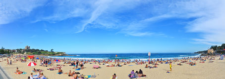 Summer at Coogee Beach  , Sydney, Australia. Stock Photo