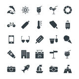 Summer Cool Vector Icons 3 Royalty Free Stock Photos
