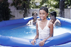 Summer Cooling Stock Image
