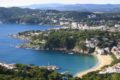 Summer in Costa Brava Stock Photography