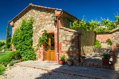 Summer cottage agriturismo in Tuscany Stock Photography