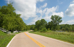Summer Country Road Royalty Free Stock Images