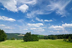 Summer countryside Stock Photography