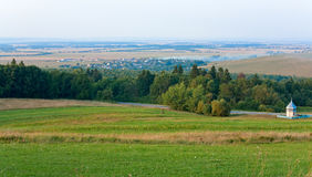 Summer countryside landscape Stock Photo