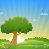 Summer Countryside Landscape Stock Images