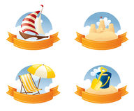 Summer Crests Royalty Free Stock Photography