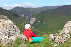 Summer Crimea Mountain landscape (Ukraine). stock photos