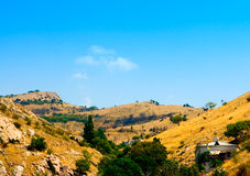 Summer Crimean hill landscape Stock Images
